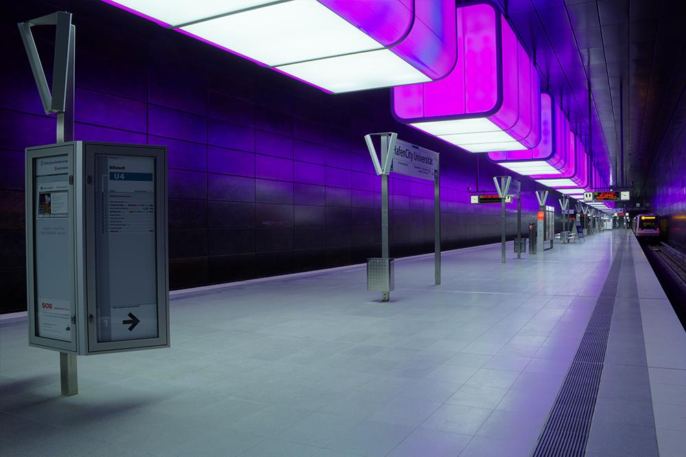 U4 Bahnhof Univertät/Hafencity